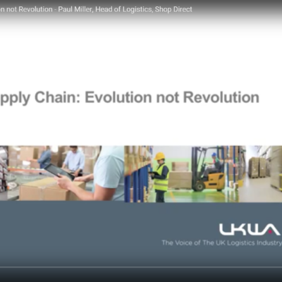 Catalogue Supply Chain: Evolution not Revolution