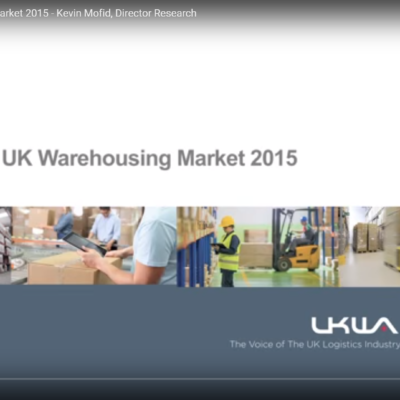 Profile of the UK Warehousing Market 2015