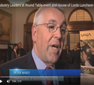 Industry Leaders at Round Table event and House of Lords Luncheon 2016