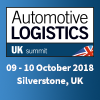 Automotive Logistics UK Summit, 9-10 October 2018