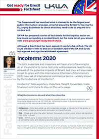 Incoterms 2020 Factsheet