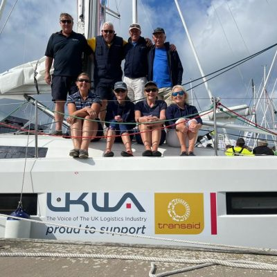 We are sailing! UKWA continues campaign to support chosen charity Transaid